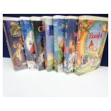 Vintage Disney VHS Tapes in Original Boxes
