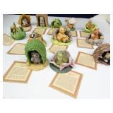Woodland Surprises Porcelain Figurine Set