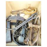 Vintage, Metal Fox Traps (4)