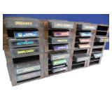 Atari Games & Shelf