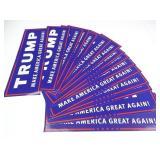 (15) Trump Make America Great Again Bumper +