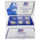 2007 State Quarters Proof Set