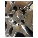 Mercedes Factory AMG Chrome Wheels fits 2000 CLKs
