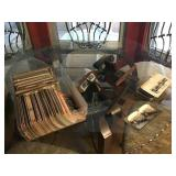Vintage Stereoscope & Prints