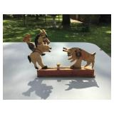 Vintage Wooden Mechanical Toy