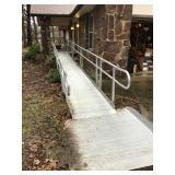 29ft Aluminum Wheelchair Ramp w/ Porch Extension