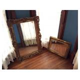 Vintage Gold Leaf Mirrors