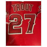 Mike Trout Autograph for sale