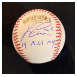 Autograph Baseballs