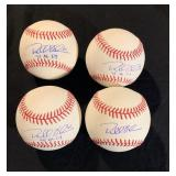 Autographed Baseballs for sale at Auction
