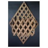 Pine Lattice Wall Hanging