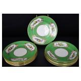 Vintage Coronet Bone China Serving Plates