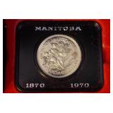 Royal Canadian Mint Manitoba Centennial Proof Coin