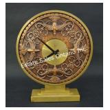 Gilt Bronze Art Deco Bayard Mantel Clock