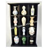 Franklin Mint Treasure Miniature Vases