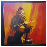 Ringside Seat Oil on Canvas - Emmett