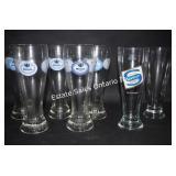 Jehle Weisse & Sanwald German Beer Glasses