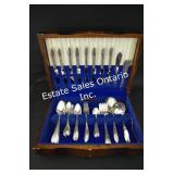 Antique Lady Hamilton Silver Pl Cutlery 1896.33 gr