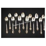 Reflection Silver Plate Spoons (137.88 grams)