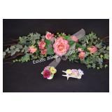 Floral Spray & Royal Stratford Porcelain