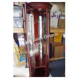 Buhler Cherry Corner Curio Cabinet