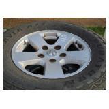 4 Dodge 1500 Factory Tires & Rims 265/70R17
