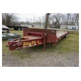 PENIAL HITCH DOVETAIL TRAILER