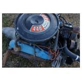 440 Four Barrel Motor
