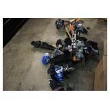 Misc Fluroscent Bulbs & Hockey Equipment