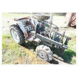 Parts Only Tractor, Bull Dog Loader Attachment