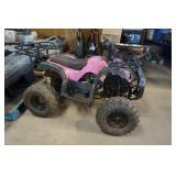 Pink Camoflauge 150cc Four Wheeler