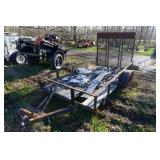 Small Flat Bed Trailer