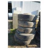 Misc Tires for 18 Wheeler