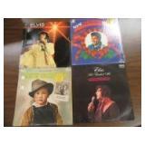 4 ELVIS VINYL ALBUMS - OF