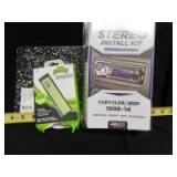 STEREO INSTALL KIT AND PORTABLE POWER BANK - OF