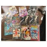 11 COMIC BOOKS - OF