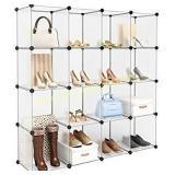 *Modular Clothes Shelving Storage Organizer DIY