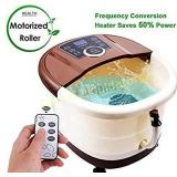 Foot Spa Bath Motorized Massager with Heat,