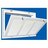 "NEW 30"" X 6 Steel Return Air Filter Grille for 1"""