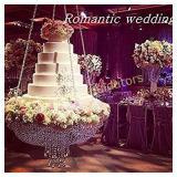Romantic Wedding Faux Acrylic Crystal Chandelier
