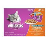 Whiskas Tender Bites Favorite Selections Wet Cat
