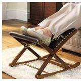 Rocking foot stool new