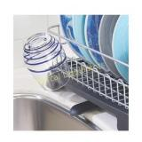 mDesign Large Kitchen Countertop, Sink Dish