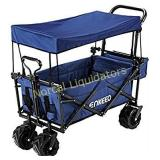 ENKEEO Foldable Utility Wagon Collapsible Sports