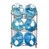 5 Gallon Water Bottle Shelf Rack Holder Stand