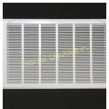 "30"" X 20 Steel Return Air Filter Grille for 1"""