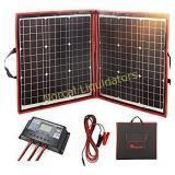 DOKIO 80 Watts 12 Volts Monocrystalline Foldable