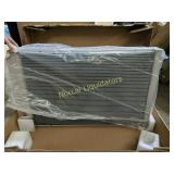 *Pre-owned aluminum radiator unknown as to what