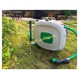 ikris Retractable Garden Water Hose Reel AND HOSE