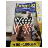 Extensia extendable pet barrier fence. Natural